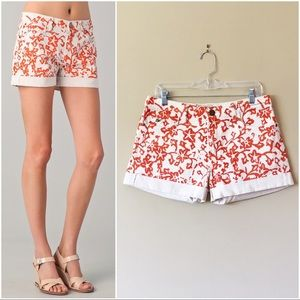 DVF x Current/Elliott | The Rolled Short in coral
